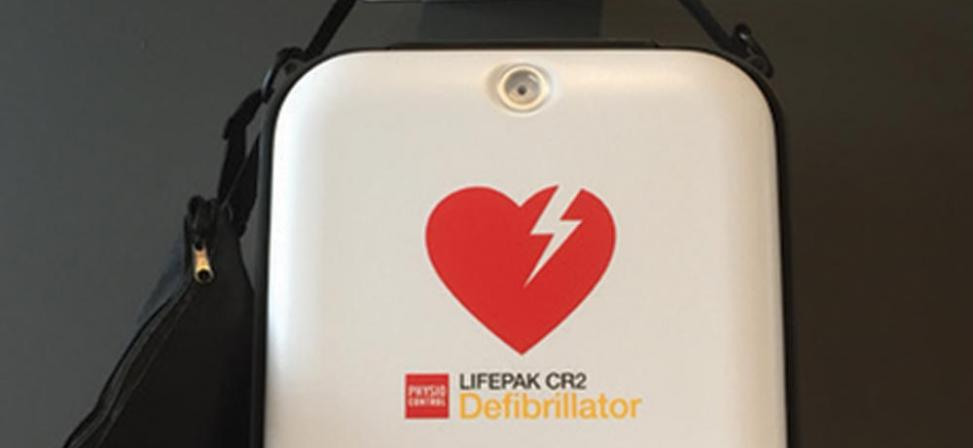 Automated External Defibrillator now on-site for community use